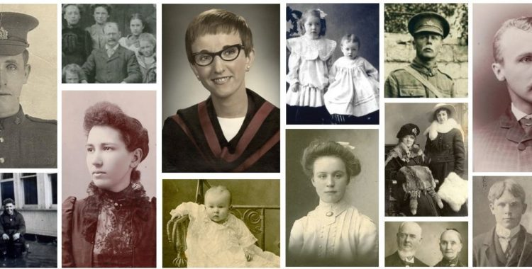 montage of portraits